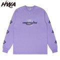 HWA WORLDWIDE LS TEE HUMAN WITH ATTITUDE ヒューマンウィズアティチュード 長袖 Tシャツ (2色展開)