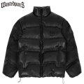 WASTED PARIS FAUX LEATHER PUFFER JACKET ジャケット