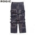 ROGIC PAISLEY PANTS RG202-006 BLACK X BLUE X ORANGE ロジック ペイズリー パンツ