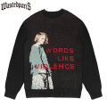 WASTED PARIS NNETIES KNIT SWEATER ウェイステッドパリス ニット セーター