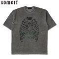 SOMEIT S.S SS TEE STONE GREY サミット 半袖 Tシャツ