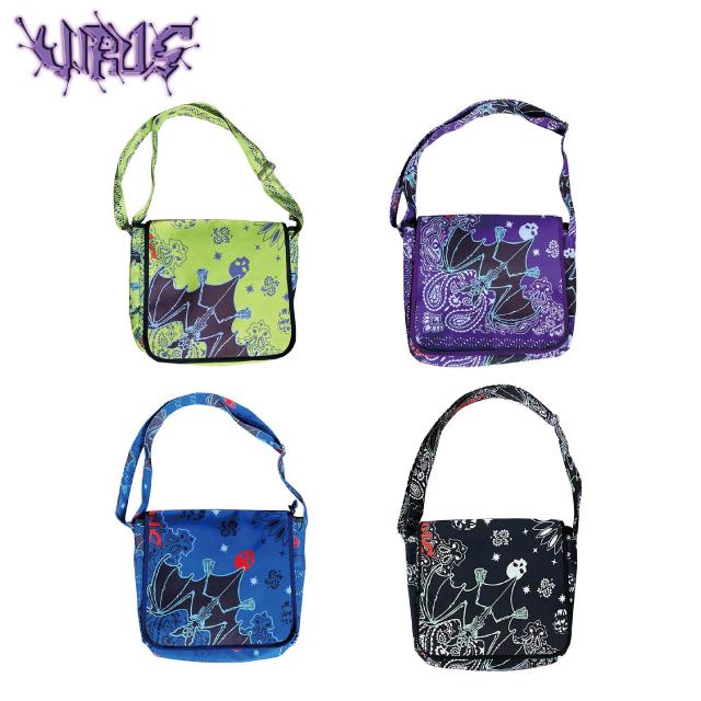VIRUS WORLD VIRUS PAISLEY BAG ウイルスワールド ペイズリー ショルダー バッグ (4色展開)