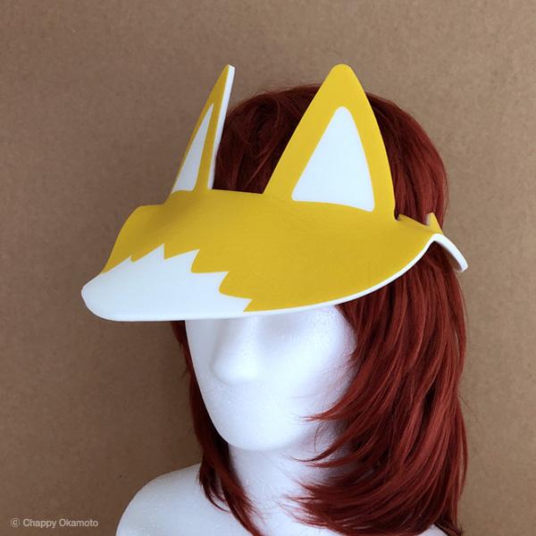 狐に変身帽子「キツネバイザー」