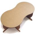 強化ダンボール製テーブル「ピーナッツ・ロー」