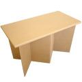 強化ダンボール製組み立て式テーブル「クロス・ハイ」
