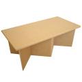 強化ダンボール製組み立て式テーブル「クロス・ロー」