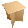 強化ダンボール製折りたたみテーブル・作業台「クロス・スクエア」