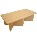 強化ダンボール製和室用座敷テーブル「クロス・和」