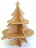 強化ダンボール製クリスマスツリー
