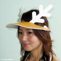 チャッピー岡本の鹿の帽子「シカバイザー」