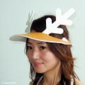 鹿に変身帽子「シカバイザー」