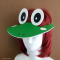 蛙に変身帽子「カエルバイザー」
