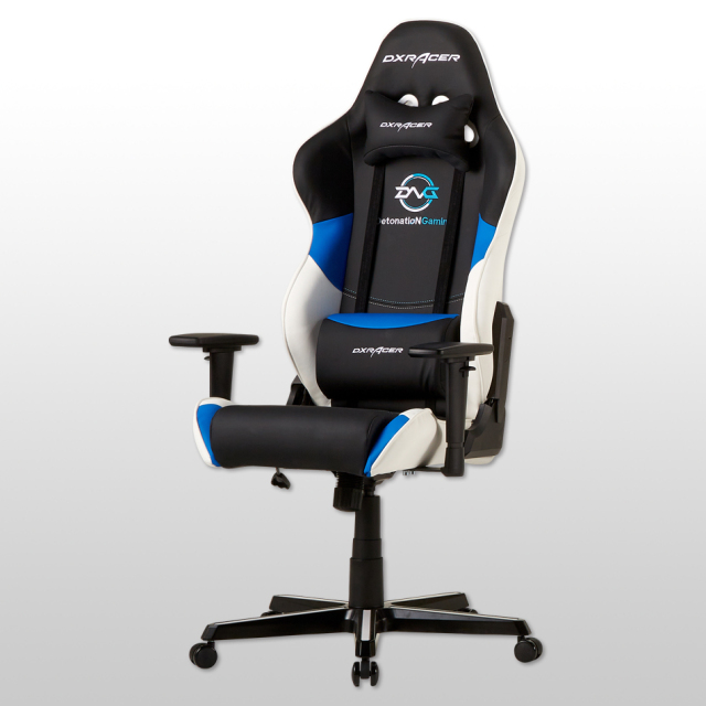 新製品/DetonatioN Gaming Limited V2【DXRACER RZ-213DNG】 (ハイバックモデル/PUソフトレザー仕様)