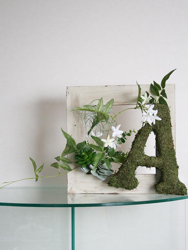 plants frame MIDORI no SEKAI[イニシャルモス]