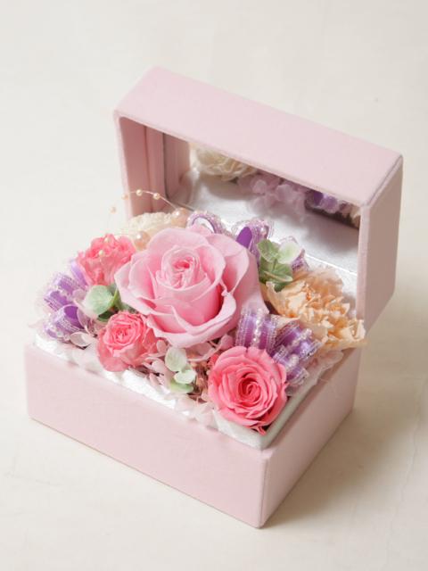 【ミラーボックス】幸せピンク