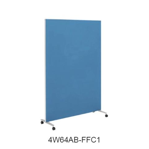 オカムラ スクリーン(衝立) 4W64シリーズ 1連タイプ クロスパネル 1200×H1800 4W64AB-FF