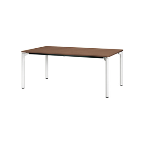 プラス エムゼロテーブル(M0 Table) ミーティングテーブル ホワイト脚 W1800×D750×H720 MT-YM1875