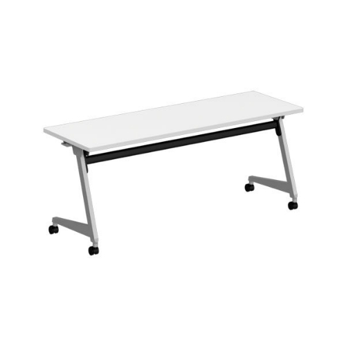 オカムラ フラプターL サイドフォールディングテーブル 棚板なし 幕板なし 81F2AY-MG99/81F2AY-MK37