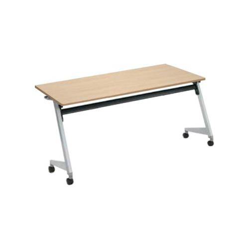 オカムラ フラプターL サイドフォールディングテーブル 棚板付 幕板なし 81F2CX-MG99/81F2CX-MK37