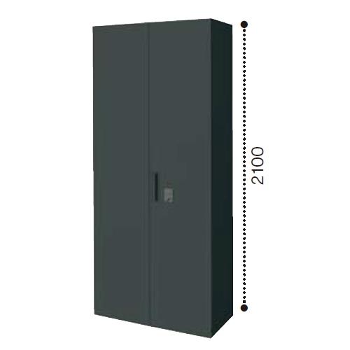 コクヨ エディア ブラックタイプ H2100タイプ 両開き扉ダイヤルロック 下置き W900×D450×H2100 BWU-SD89E6C