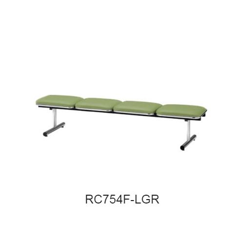 ナイキ ロビーチェア ロビーシリーズ75 4人掛 布張り W2015×D500×H410 RC754F