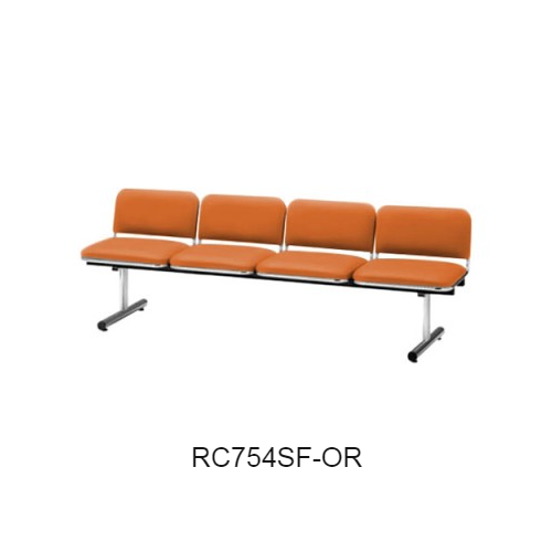 ナイキ ロビーチェア ロビーシリーズ75 4人掛 布張り W2015×D540×H660 RC754SF