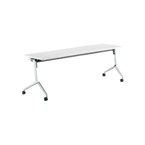 コクヨ ミーティングテーブル リーフライン フラップテーブル パネルなしタイプ 棚なし W1800×D450×H720mm KT-1200