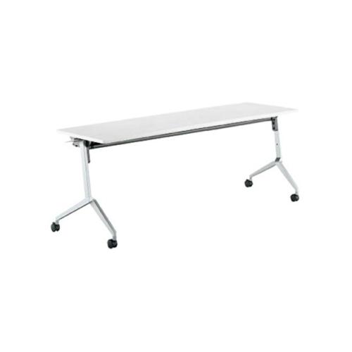 コクヨ ミーティングテーブル リーフライン フラップテーブル パネルなしタイプ 棚なし W1500×D600×H720mm KT-1203