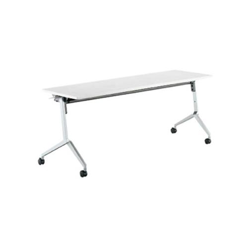 コクヨ KOKUYO ミーティングテーブル リーフライン フラップテーブル  パネルなしタイプ 棚なし W1200×D600×H720mm KT-1205