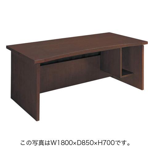 コクヨ 役員家具 マネージメント30シリーズ パソコン対応テーブル W1600×D850×H700mm MG-3DF1RN3(ローズウッド色)