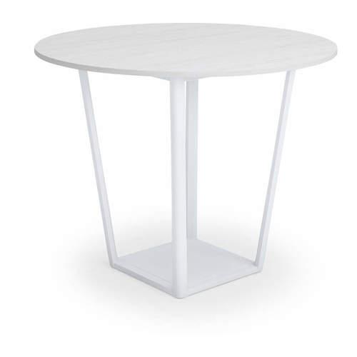 コクヨ ミーティングテーブル リージョン(Region) ボックス脚 円形テーブル/ミドルハイテーブル/メラミン天板 LT-RGC12MH