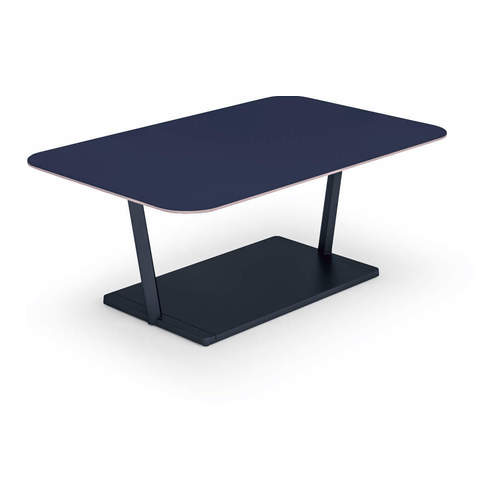 コクヨ ミーティングテーブル リージョン(Region) T字脚 角形テーブル/ローテーブル/リノリウム天板 LT-RG167L