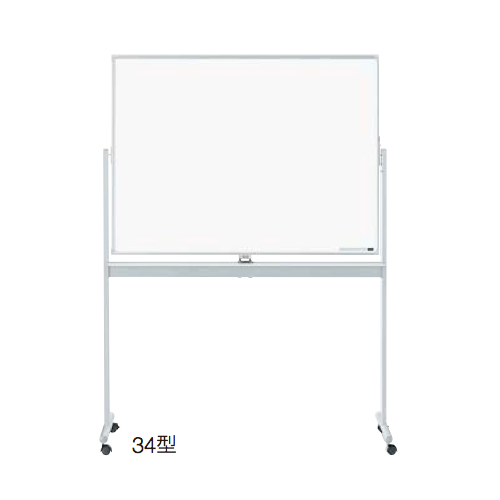 ウチダ UCHIDA 映写機能付オフィスボード ホワイトボード NB-34型・HWA/NB-N 6-191-4010