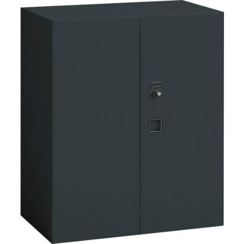 オカムラ レクトライン ブラックタイプ 両開き書庫(ダイヤル錠) 下置き用 W900×D450×H1050 4B33ZG-ZH25