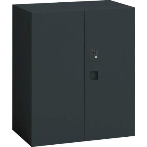オカムラ レクトライン ブラックタイプ 両開き書庫(プッシュ錠) 下置き用 W900×D450×H1050 4B33ZJ-ZH25