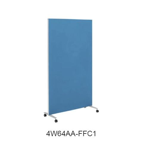 オカムラ スクリーン(衝立) 4W64シリーズ 1連タイプ クロスパネル 900×H1800 4W64AA-FF