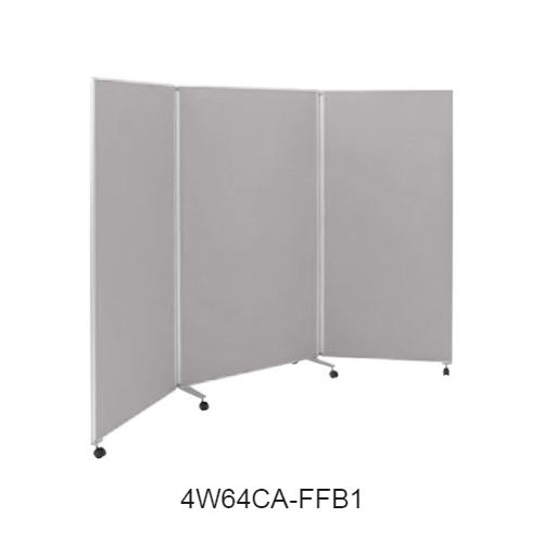オカムラ スクリーン(衝立) 4W64シリーズ 3連タイプ クロスパネル W800+900+800×H1800 4W64CA-FF