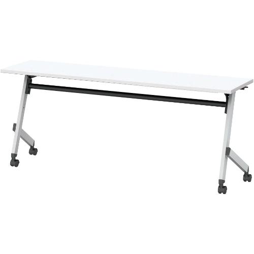ウチダ プラッテシリーズ 平行スタックテーブル 幕板なし 棚板なし W1800×D450×H720 PLT1845  6-172-1130