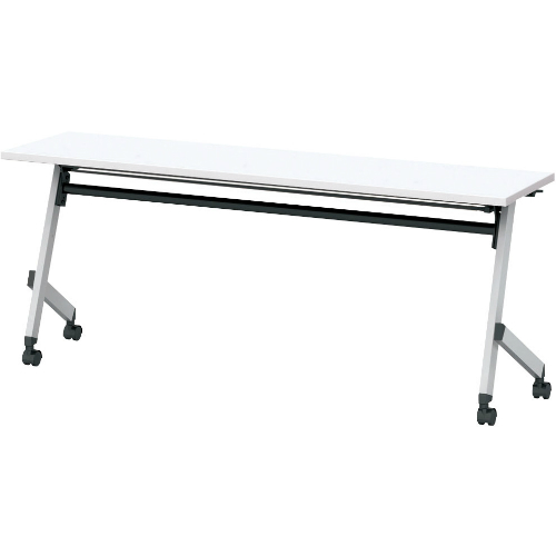 ウチダ プラッテシリーズ 平行スタックテーブル 幕板なし 棚板付 W1500×D450×H720 PLT1545T  6-172-5120