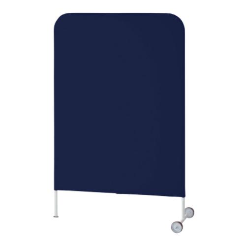 ウチダ パーテーション・衝立 インテリアスクリーンYP W900×D450×H1350 モバイルタイプ1309C 6-470-781