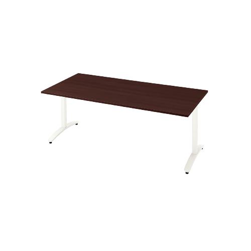 プラス ロンナ(ronna) 標準天板 T字脚 長方形 配線口なし ミーティングテーブル W1500×D900×H720 NN-1509TAR