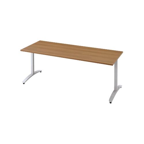 プラス ロンナ(ronna) 標準天板 T字脚 長方形 配線口なし ミーティングテーブル W1500×D750×H720 NN-1507TAR