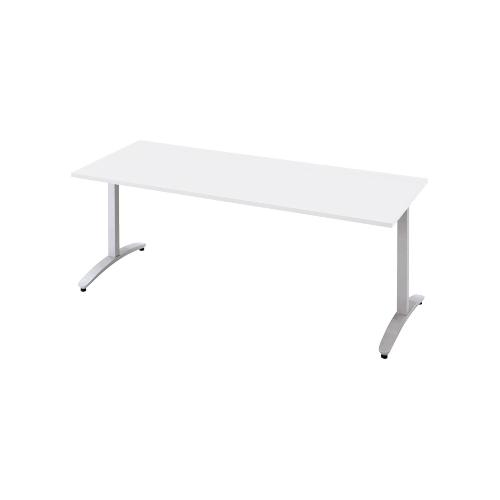 プラス ロンナ(ronna) 標準天板 T字脚 長方形 配線口なし ミーティングテーブル W1200×D750×H720 NN-1207TAR