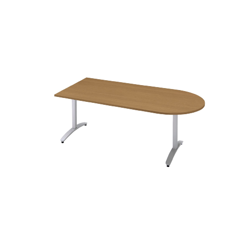 プラス ロンナ(ronna) 標準天板 T字脚 U字形 配線口なし ミーティングテーブル W1800×D900×H720 NN-1809TAU