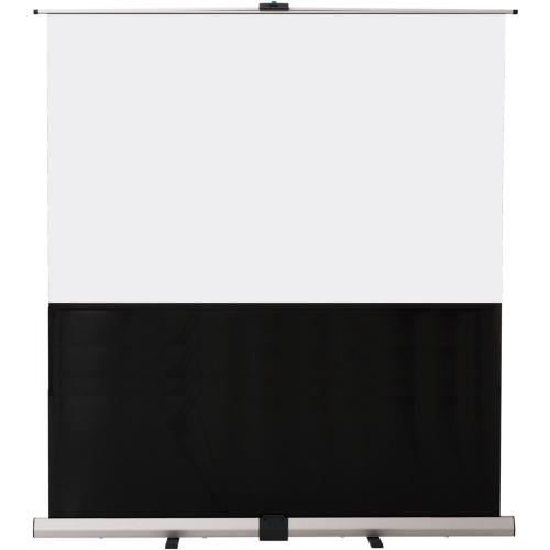 ウチダ スクリーン フロアスクリーン (横縦比 ワイド 16:10) W100型 KFU-100V 7-157-1034