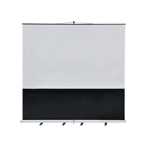 ウチダ スクリーン フロアスクリーン ワイド型 (横縦比 ワイド 16:10) W120型 KFU-1200V 7-157-1038