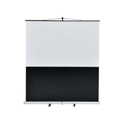 ウチダ スクリーン フロアスクリーン ワイド型 (横縦比 ワイド 16:10) W80型 KFU-800V 7-157-1045