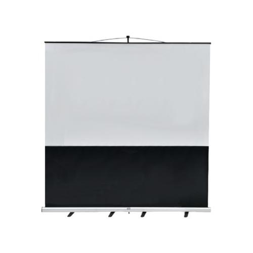 ウチダ スクリーン フロアスクリーン ワイド型 (横縦比 ワイド 16:10) W100型 KFU-1000V 7-157-1046