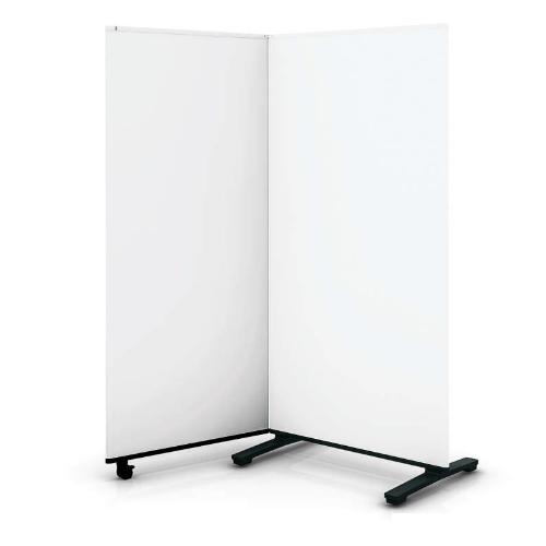 コクヨ ホワイトボードスクリーン 2連 H1500 W1685×D600×H1500 B03-P215S1S1-1