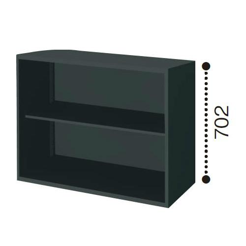コクヨ エディア ブラックタイプ H700タイプ オープン 上/下置き共用 W900×D450×H702 BWU-K39E6C